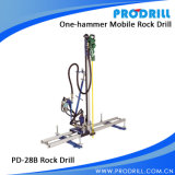 Pneumatic Mobile Rock Drill for Vertical and Horizontal Drilling
