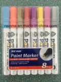 Recycled Oil Paint Marker Color Plastic PP Barrel