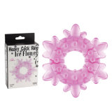 Pretty Ice Flower Shape Male Sex Toy Penis Cock Ring