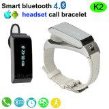 Intelligent Smart Bracelet with Call Earphone (K2)