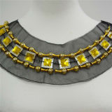 2014new Vogue Beaded Rhinestone Necklace (HMC088)