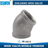 China Factory Pipe Fitting Stainless Steel Elbow 45 Degree