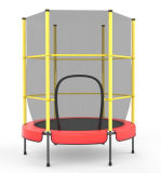 55 Inch Popular Mini Bungee Indoor Trampoline with Safety Net