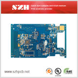1.6mm Blue Solder Mask Immersion Gold 2 Layer Fr4 PCB