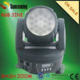 Newest 18*9W RGB 3in1 LED Zoom Moving Head Wash