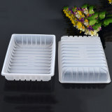 factory wholesale price disposible plastic fresh food grade PP tray(cakies tray)