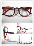 China Wholesale Fashionable Red Marble Acenate Optical Frames