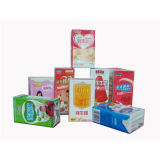 Laminated Paper Box Packaging for Juice and Milk