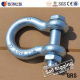 HDG Alloy Steel Us Type Bolt Anchor Shackles (G-2130)