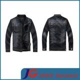 Men Black Wash Relaxed Fit Trucker Denim Jacket Apparel (JC7037)