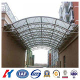 Steel Structure Special Shaped Arch Roof Awning (KXD-SSB123)