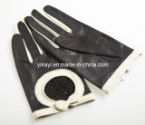 Ladies Fashion Leather Driving Gloves Yky5110