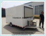 Vending Machine Pizza Truck Kitchen Van Cart Trolley