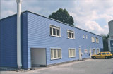 One Storey Prefabricated Office with Security Door and Window
