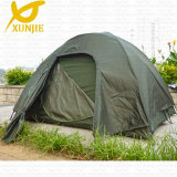 Fiberglass Pole Tent 3-4 Person Tents Double Layer Camping Tent