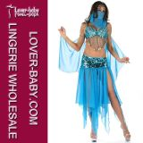 Sexy Arabian Blue Ladies Dance Fancy Dress (L1388)