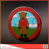 Custom Double-Sided Hard Enamal Metal Souvenir Coin for Promotional Gifts