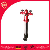 3 Way Outlet 6 Inch Flange Outdoor Fire Hydrant