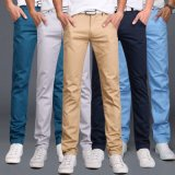 Pants for Men Long Straight Trousers Men Formal Pants Slim Type