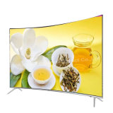 55inch Curved UHD 4K E-LED TV Smart with Tempered Glass