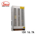Smun S-250-15 250W 15VDC 16.7A AC-DC Single Output Power Supply