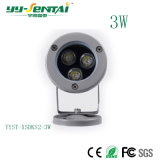 3W Waterproof LED Spotlight for Landscape
