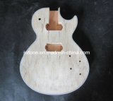 Spalted Maple Top Lp Guitar Body