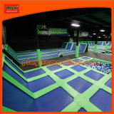 Mich Patented Mini Indoor Olympic Trampoline for Play Center