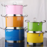 10PCS Stainless Steel Cookware, 16-24cm