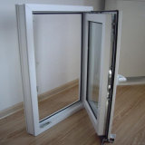 White Frame Color UPVC Window for Project