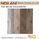 Texture Finish Wood Plank Porcelain Floor Tile Wooden Wall Tiles