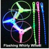 LED Light up Flashing Whirly Wheel Toy