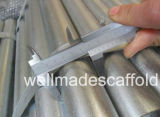 BS1139 Galvanized Scaffold Tube for Oil Petroleum Construction