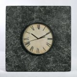 Modern Square Wooden Wall Clock