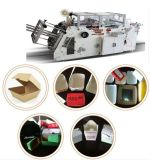 China Food Paper Box Machine with Gluing