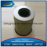 High Quality PP Truck Air Filter with Mesh (21834210)
