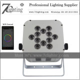Battery Operated 12X18W Wireless Lighting WiFi LED Uplights for Wedding, Events