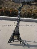 Mahogany Body V Electric Guitar
