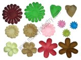 Multicolor Paper Flower/Artificial Flowers for Wedding & DIY Crafts