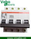 Miniature Circuit Breaker, Dz47-63 4p C45 4p