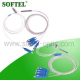 FTTH 1*4 Steel Tube Sc/Upc PLC Splitter