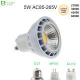 5W COB GU10 MR16 27 LED Spot Lamp