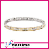 Fashion Lady Style 316L Stainless Steel Bracelet for Health Function
