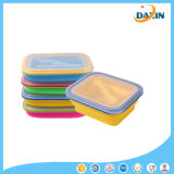 Microwave Safe Lunch Box Silicone Foldable Foodbox