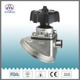 Stainless Steel Manual Welded Tank Bottom Diaphragm Valve (DIN-No. RG1027)