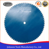 1200mm Laser Wall Saw Blade for Heavy Reinforced Concrete Cutting