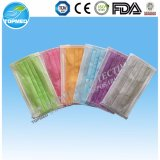 Disposable Nonwoven Earloop 3 Ply Medical Face Mask