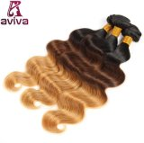7A Virgin Hair Extension Brazilian Hair Virgin Ombre