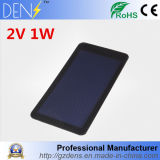 1W 2V Waterproof Mini Amorphous Silicon Flexible Solar Cell for DIY Solar System