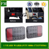 LED Tail Bumper Light with Astern Reverse Function for Jeep Jk